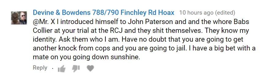 Have no doubt that you are going to et another knock from cops and you are going to jail. I have a big bet with a mate on you going down sunshine