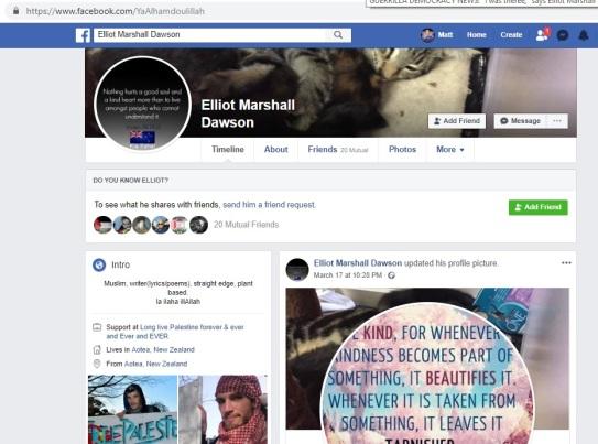 elliot-facebook-page