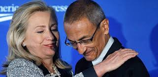 Hillary Clinton and John Podesta
