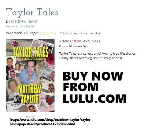 Taylor Tales - A collection of true life stories