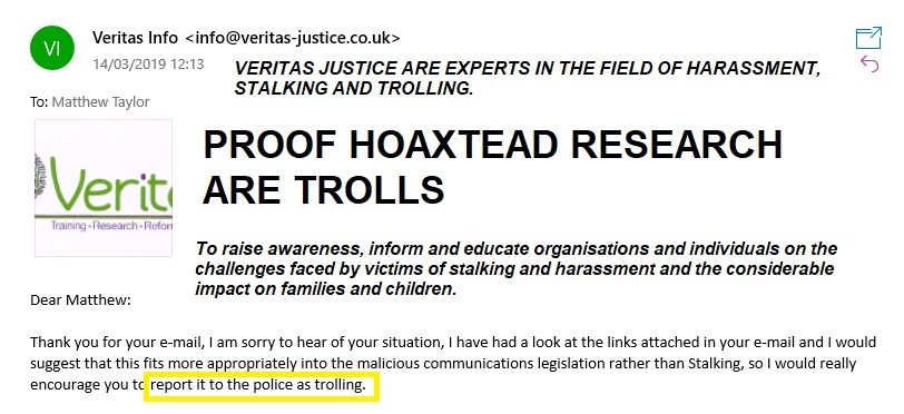 veritas-trolling-confirmation